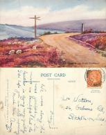 Hunt House Road, Goathland, Yorkshire Postcard 1947 Stamp Dennis #2 - Whitby
