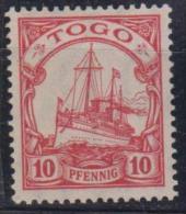 1913 Mi.No. 22  Deutschland Deutsche Kolonien Togo  ** - Colonia: Togo