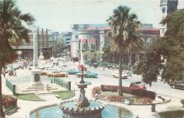 Trafalgar Square, Bridgetown, Barbados, West Indies Postcard Posted 1983 - Barbados (Barbuda)
