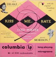 Cole Porter 33t. LP USA *kiss Me Kate* - Musicals