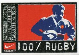 100 % RUGBY . GARBAJOSA / XV FR . NIKE ET SPORT 2000 - Réf. N°6239 - - Rugby