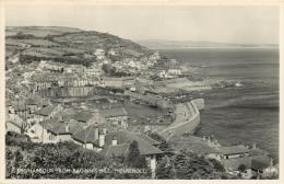 Harbour, Mousehole, Cornwall Postcard Salmon RP - England