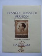 SPAIN FRANCO MINISHEET - Other