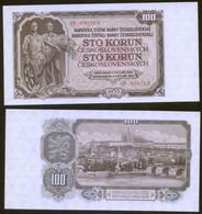Czechoslovakia 100 Koron 1953  Pick 86a UNC - Tchécoslovaquie