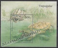 Azerbaidjan - Azerbaijan - Azerbaycan 1995 Yvert BF 15, Fauna, Tortoise - MNH - Azerbaïjan