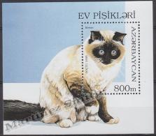 Azerbaidjan - Azerbaijan - Azerbaycan 1995 Yvert BF 18, Fauna Cats - MNH - Azerbaïjan