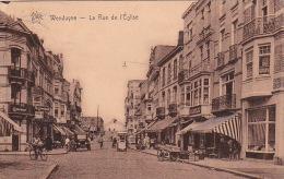Wenduyne 270: La Rue De L'Eglise 1933 - Wenduine