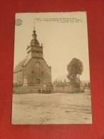 BURE  - TELLIN  - Eglise Et Monument  Des Morts De La Guerre - Tellin