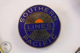 Southern Lines Pacific Railway/ Railroad  - Pin Badge #PLS - Transportes