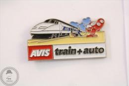 France AVIS Train & Auto Signed Prodimport- Pin Badge #PLS - Transportes