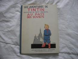 AU PAYS DES SOVIETS - Tintin