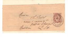 BANDE DE JOURNAL PUBLICITE F. GAUTHEY CLERMONT FERRANT CACHET PUY DE DOME - Enteros Postales