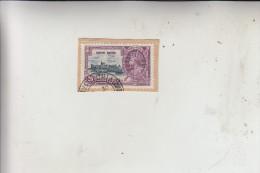 HONGKONG, 1935, Michel 135 Auf Briefstück - Used Stamps