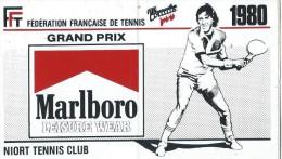 Sport / Tennis / Grand Prix Marlboro/F�d�ration Fran�aise de tennis / NIORT Tennis Club / Ann�es 1980     ACOL16bis