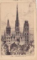 76 - Rouen - La Cathédrale (eau-forte) - Rouen