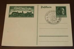 Deutsches Reich Brief  Ganzsache Hitler RPT 1938 Nürnberg  #cover2332 - Allemagne
