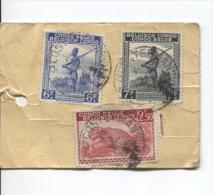 Belgisch Congo Belge TP 264-244A-261 S/Echantillon Sans Valeur Recommandé 1945 C.Costermansville En 1945 PR698