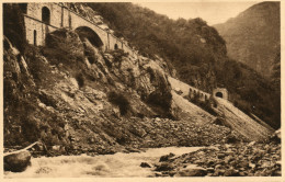 Vallée De L'Ariege-travaux Du CHEMIN De FER Transpyreneen - Sonstige Gemeinden