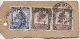 Belgisch Congo Belge TP 232(2)-264 S/Echantillon Sans Valeur C.Léopoldville En 1945 PR704