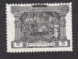 Azores, Scott #149, Mint No Gum, Postage Due Of Portugal Overprinted, Issued 1911 - Azores