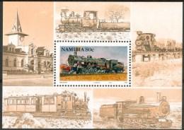 1994 Namibia Treni Trains Railways Block MNH** -ZZ41 - Treni