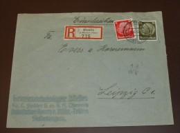 Deutsches Reich Brief  Einschreiben Kornitz Mährisch Trübau  #cover2357 - Germany