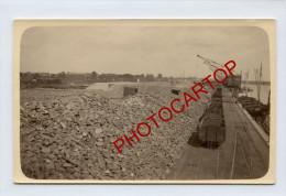 GENT-GAND-Port ARTHUR-Schotter-Carte Photo Allemande-Guerre 14-18-1WK-BELGIEN-Flandern- - Gent