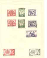 TIMBRES AUSTRALIA PEACE 1945 CORONATION 1953 LOT N° 6 - Sin Clasificación