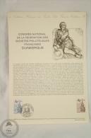 La Poste France - Philatelic First Day Document: Congres National De La Fédération Des Sociétes Philateliques Dunkerques - Documents De La Poste