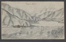 7556-PIEVE DI LEDRO(TRENTO)-DISEGNATA-FP - Trento