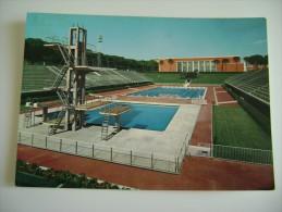 ROMA    STADIO DEL NUOTO      NON   VIAGGIATA CONDIZIONI FOTO - Swimming