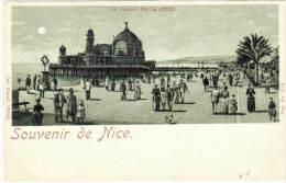 Souvenir D Nice  (dite A La Lune) Le Palais De Justice   (68391) - Nice