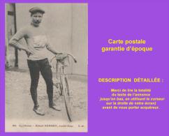 Cpa Cyclisme, Vélo, Albert DUPONT, Routier Belge. Éditeur CM. Très Bon état. Voir Description Bien Détaillée. - Ciclismo