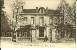 CPA  VILLANDRAUT, Maison Bentéjac  10128 - Otros Municipios