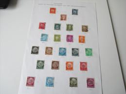 POL - Lochung Deutsches Reich Verschiedene Typen 24 Marken. Katalogwert Laut Bezeichnung 446DM Heute 178,5€!! Polizei - Gebraucht