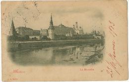 Moscou Le Kremlin Edit J.J. Berlin P. Used 1903 - Russia