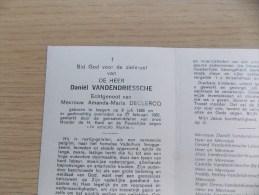 Doodsprentje Daniël Vandendriessche Izegem 8/7/1885 - 24/2/1965 ( Amanda Maria Declercq ) - Religion & Esotericism