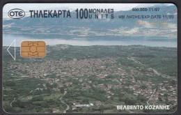 GREECE P 1997 - 11 / 97 -  400.000 USED - 2 Scans. - Telefoonkaarten