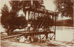 Carte Photo. Congo.Tshikapa. Transbordeur De 10 Tonnes. Voir Texte Au Dos. 1/10/1918. - Africa
