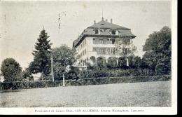 Switzeland -  Lausanne - Avenue Montagibert - Pensionnat De Ieunes Filles Les Allieres - 1926 - VD Vaud