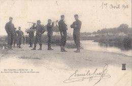 Militaria -  37 De Tours à Véretz - Ecole De Clairons - Manovre