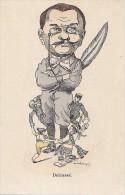 Histoire - Politique - Caricature Delcassé - Russia Tsar Nicolas II - Historia