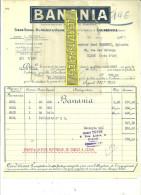 92 - Hauts-de-seine - COURBEVOIE - Facture BANANIA - Poudre Chocolatée - 1927 - REF 23 - France