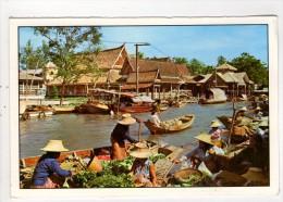 CP 10*15/AZ244/THAILANDE BANGKOK FLOATING MARKET - Tailandia