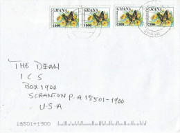 Ghana 2002 Oda Graphium Butterfly Insect C500 Cover - Vlinders