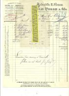 94 - Val-de-marne - ARCUEIL - Facture FOSSE - Biscuits - 1930 - REF 23 - France