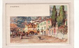 ITALIE /LOMBARDIE / PORLEZZA / ILLUSTRATEUR / Porelezza Illustré Par M.Wielandt - Italië