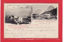 ITALIE / TRENTNO-ALTO-ADIGE / BOLZANO / COMMERCES/HOTELS/POSTES/P Osthotel Hirsch - Franzenshöhe Posthotel Stilfserjoch - Bolzano (Bozen)