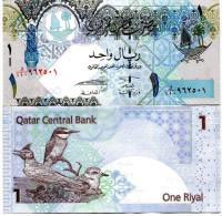 QATAR 1 RIAL 2008 FDS UNC - Qatar