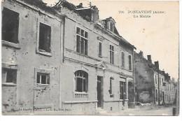 PONTAVERT - La Mairie - La Guerre 1914-17 - France